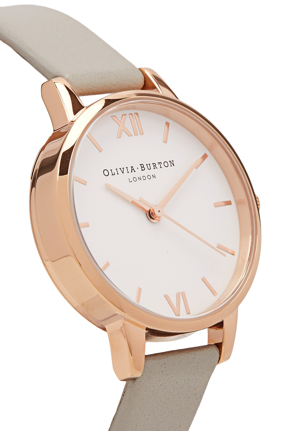 Midi Dial rose gold-plated watch - Olivia Burton