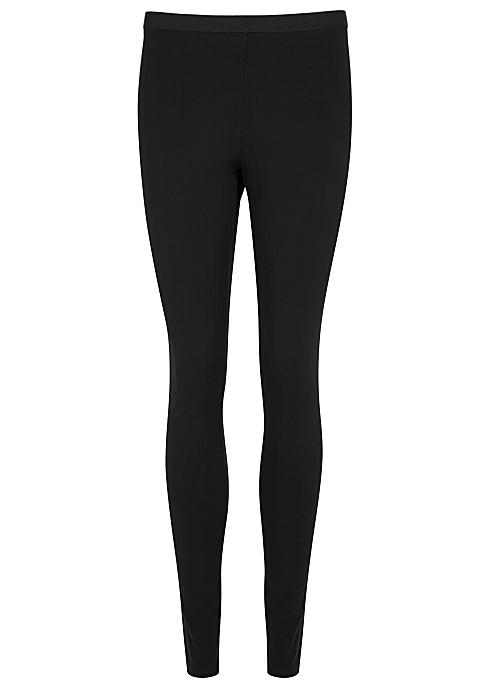 64603f404ea25 Helmut Lang Reflex black jersey leggings - Harvey Nichols