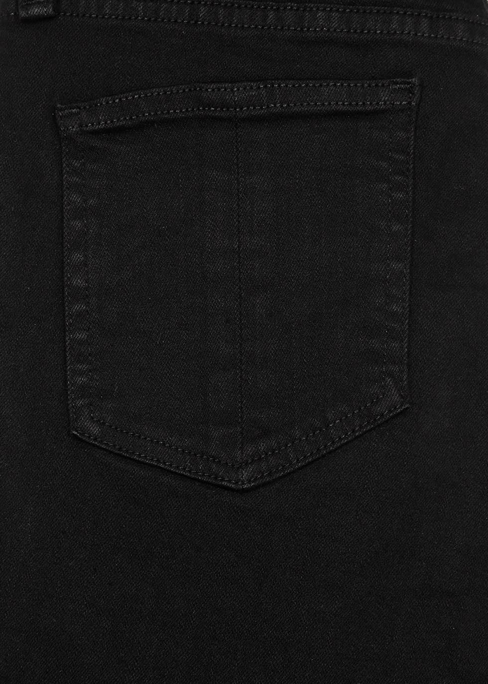10 Inch Capri black skinny jeans - rag & bone
