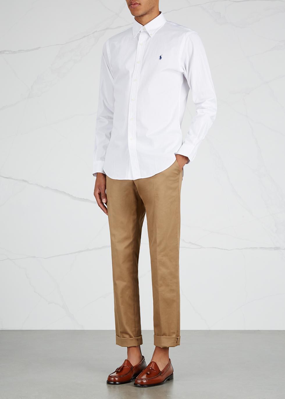 White slim cotton shirt - Polo Ralph Lauren