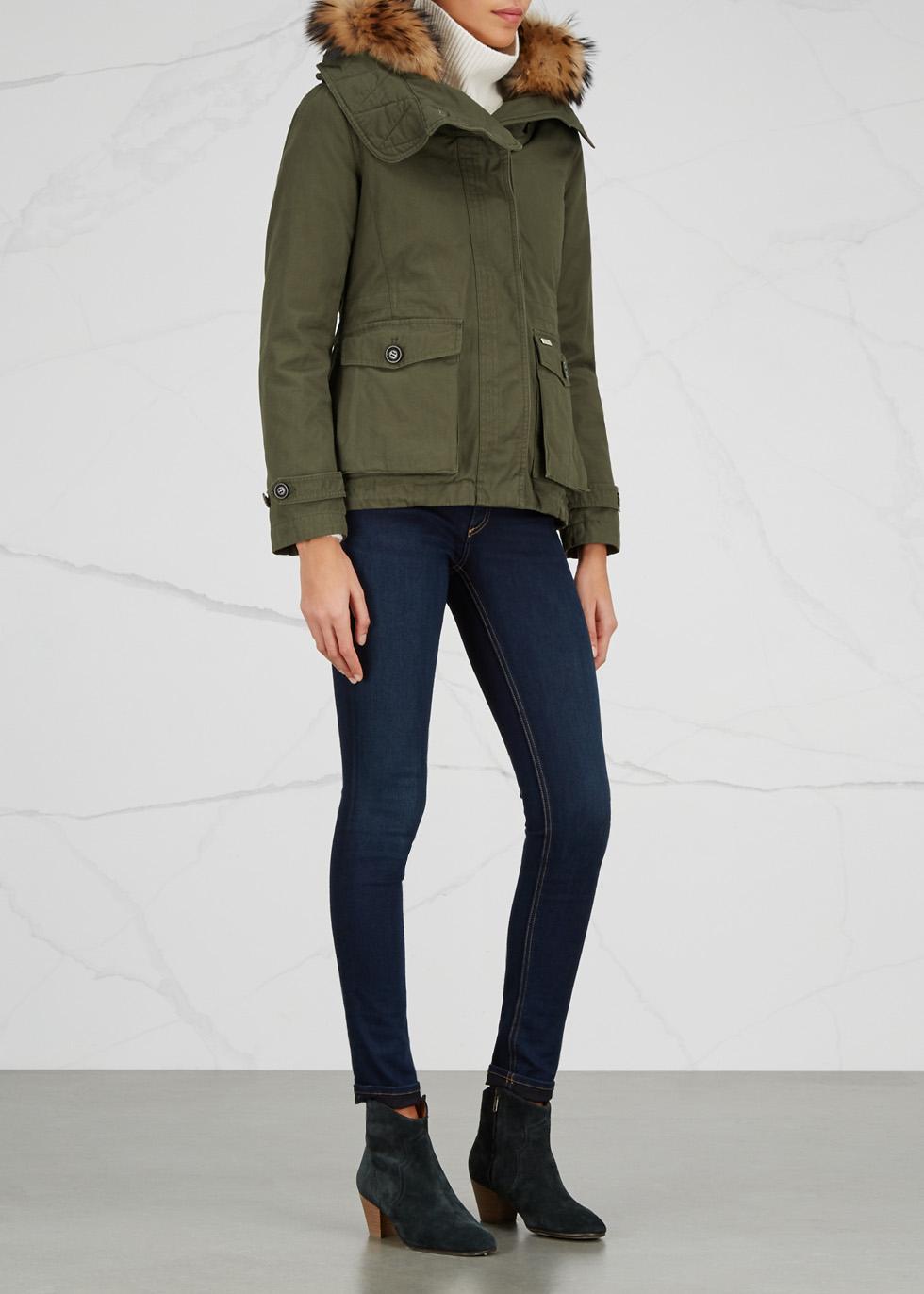 Scarlett Eskimo shell jacket and cotton parka - Woolrich