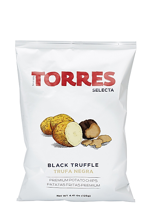 Black Truffle Crisps 125g