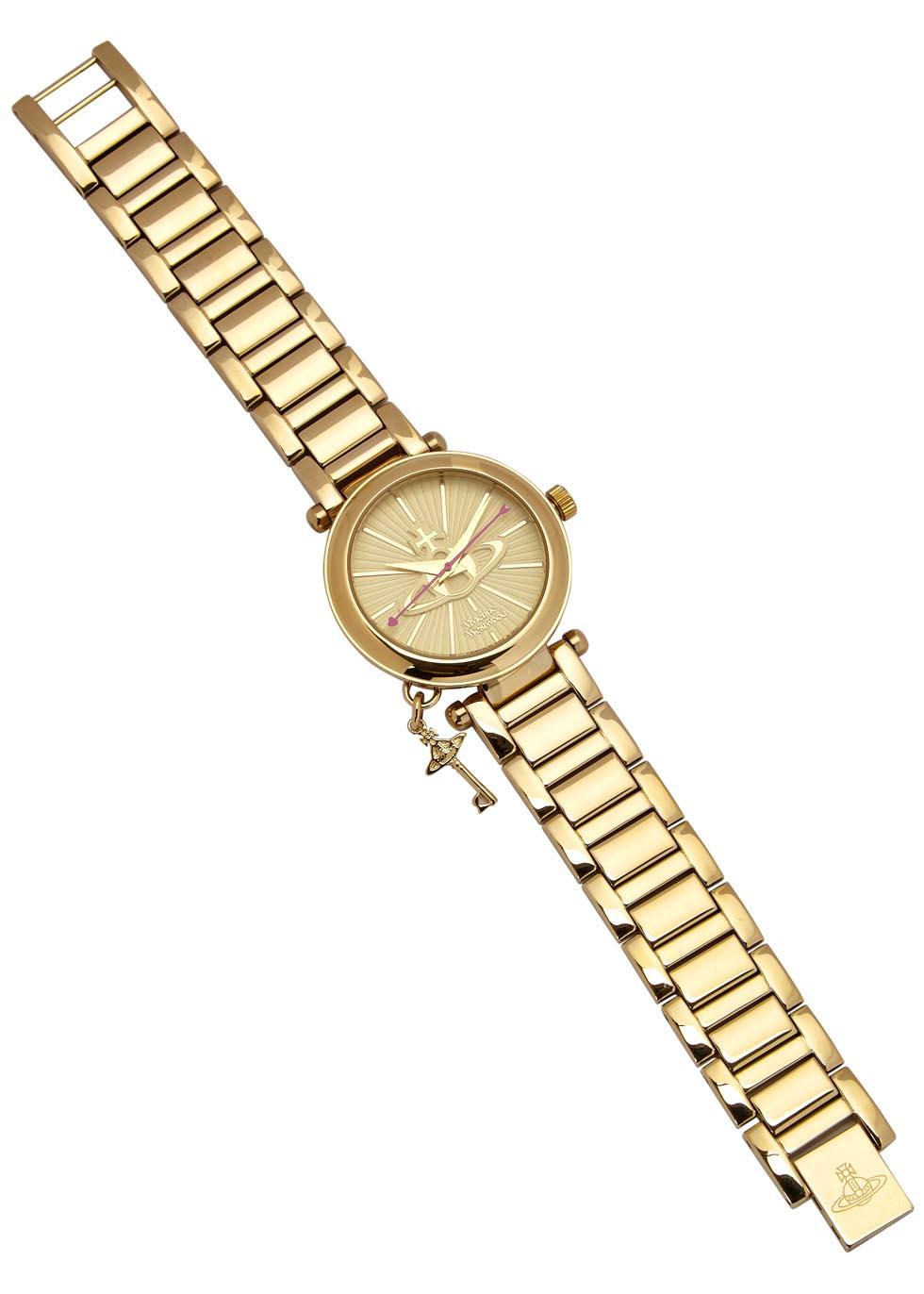 Kensington gold tone watch - Vivienne Westwood