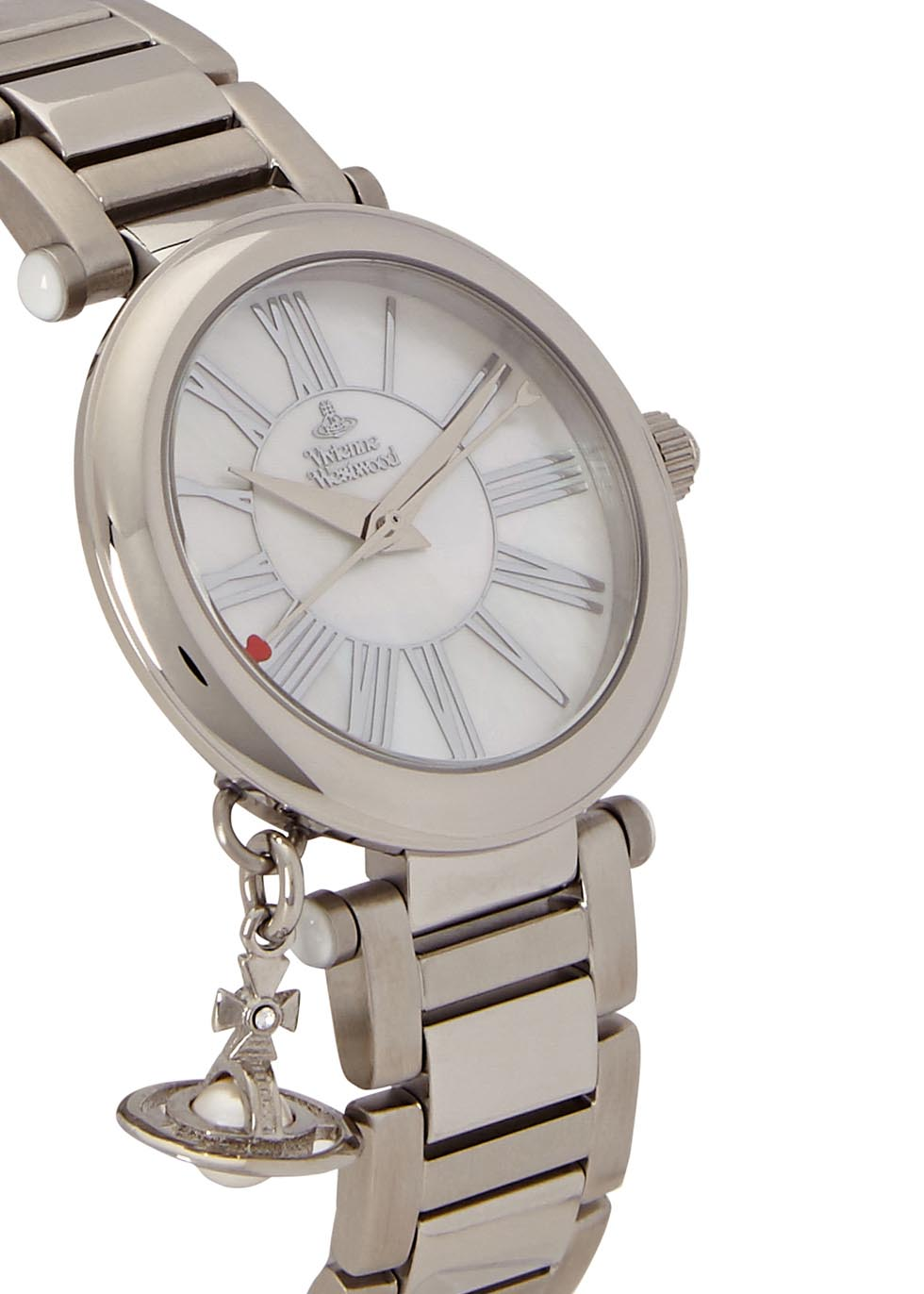 Mother Orb silver tone watch - Vivienne Westwood