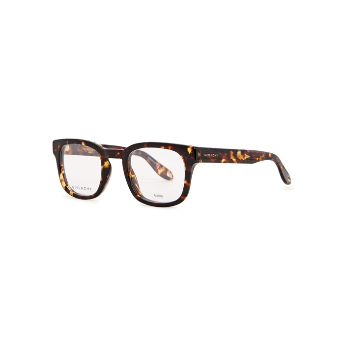 Givenchy Glasses TORTOISESHELL WAYFARER-STYLE OPTICAL GLASSES