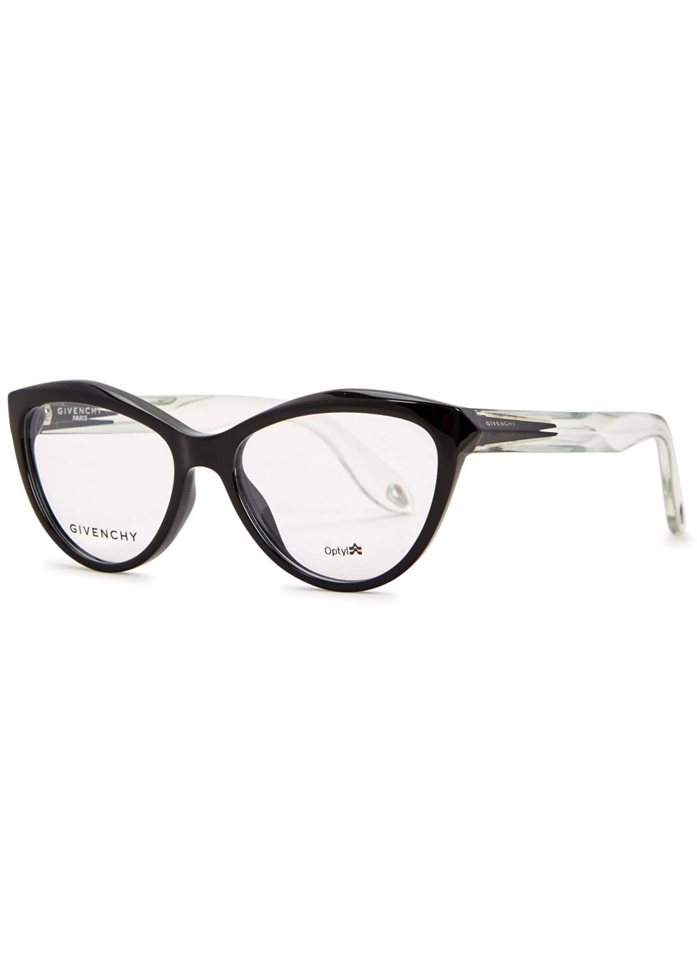 Black cat-eye optical glasses - Givenchy