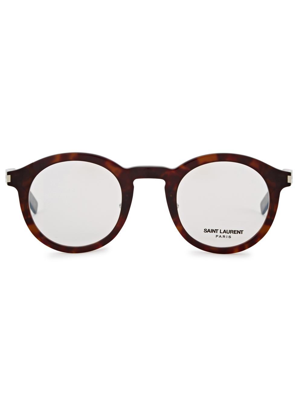 SL 140 Slim round-frame optical glasses - Saint Laurent