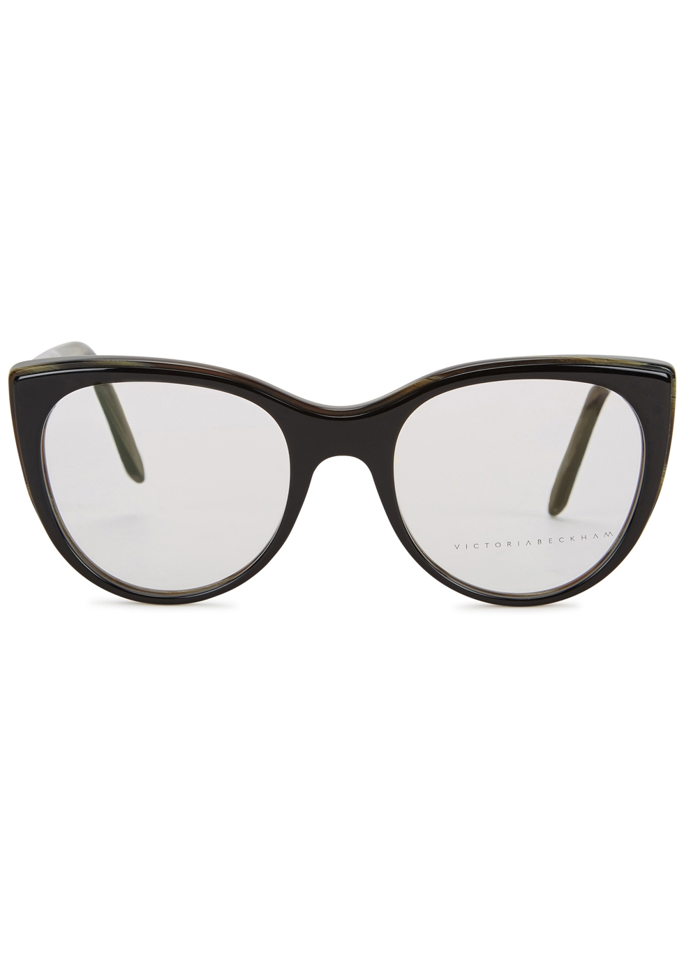 Layered Kitten black cat-eye optical glasses - Victoria Beckham