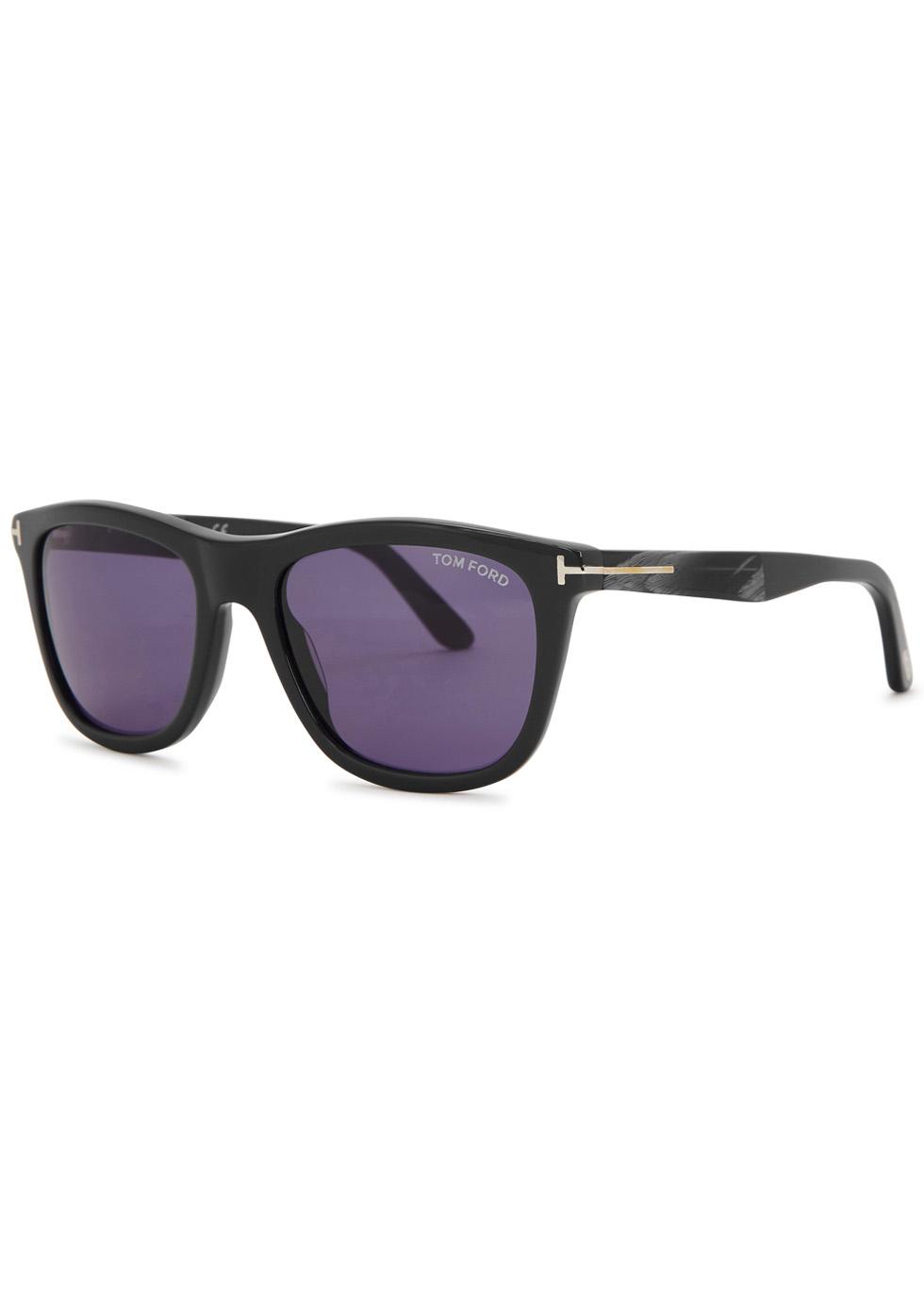 Andrew dark grey wayfarer-style sunglasses - Tom Ford Eyewear