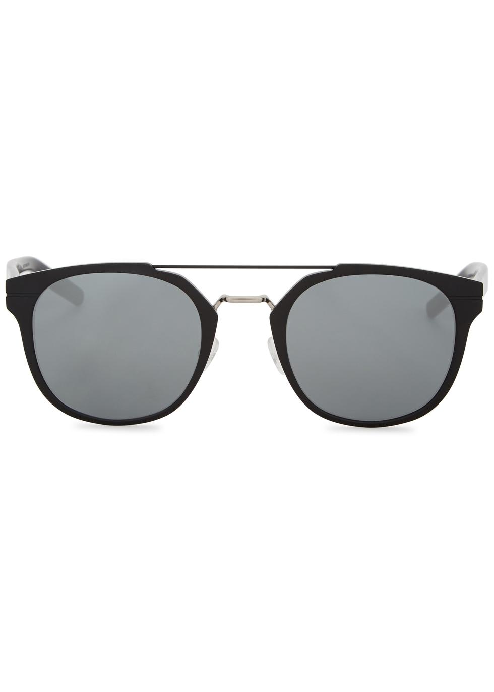 Dior Ali 3.5 black clubmaster-style sunglasses - Dior Homme
