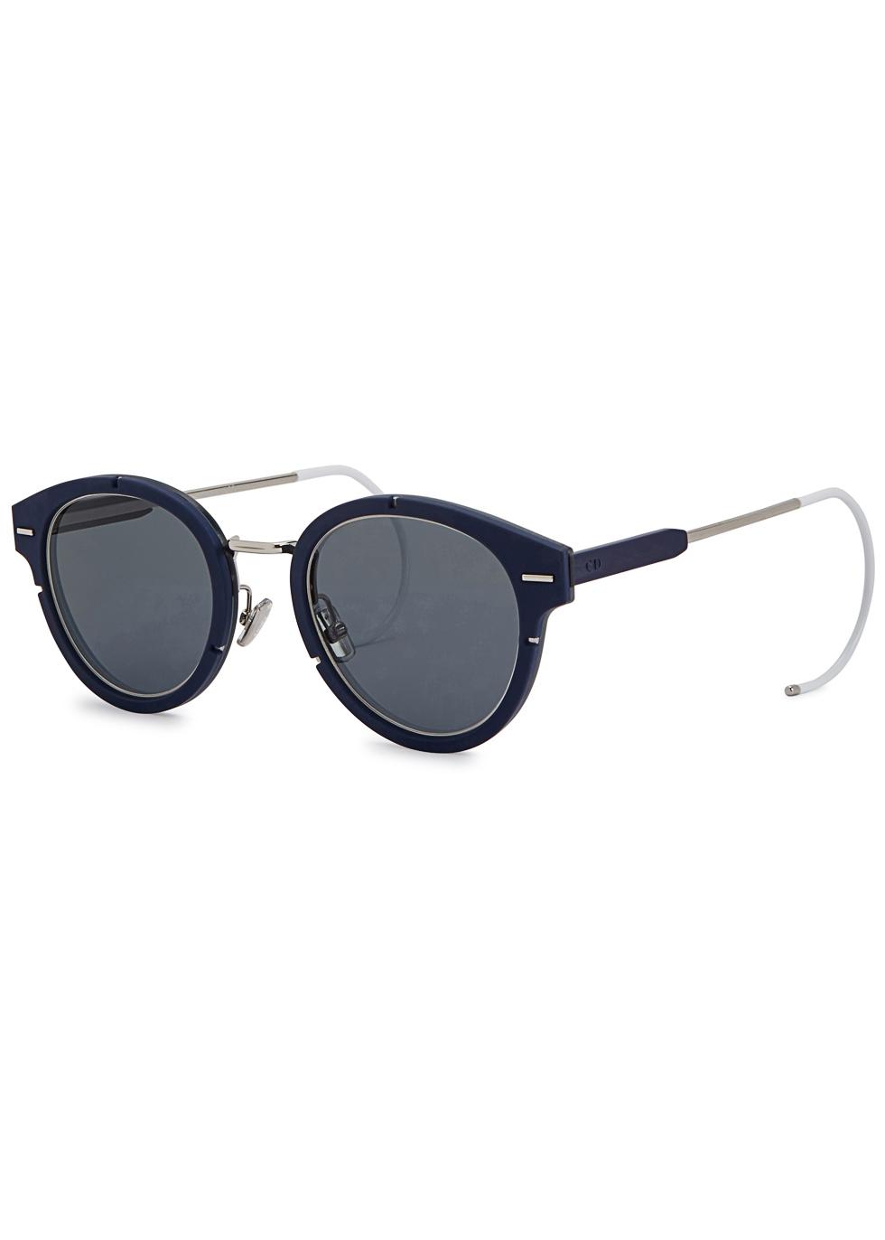 Dior Magnitude 01 blue round-frame sunglasses - Dior Homme
