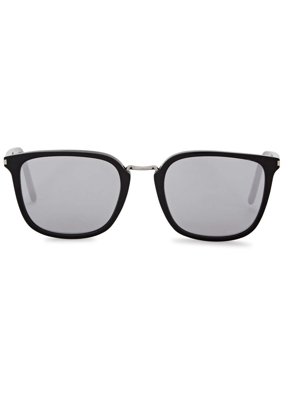 SL 131 mirrored square-frame sunglasses - Saint Laurent