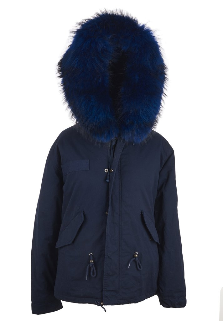 PARKA FUR COLLAR