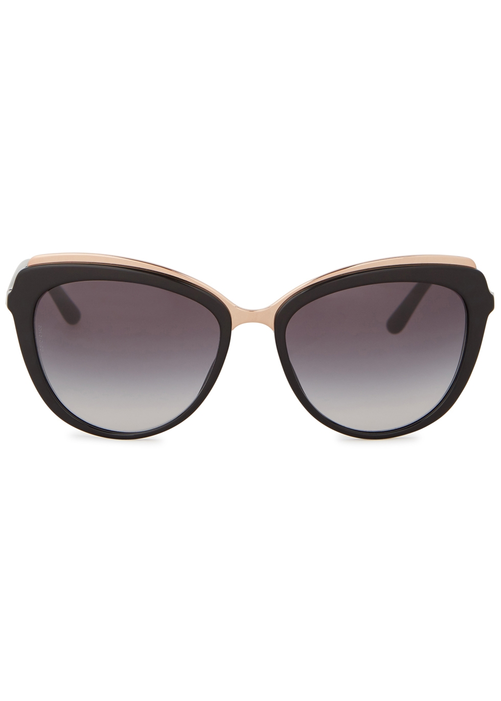 Black cat-eye sunglasses - Dolce & Gabbana