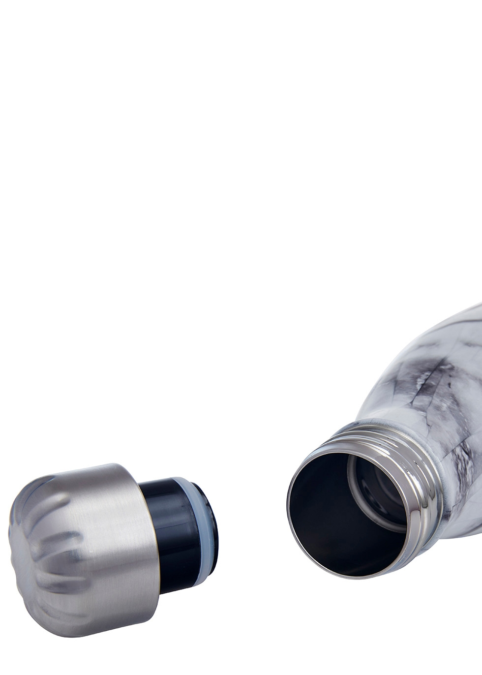 White Marble stainless steel bottle 500ml - S'well