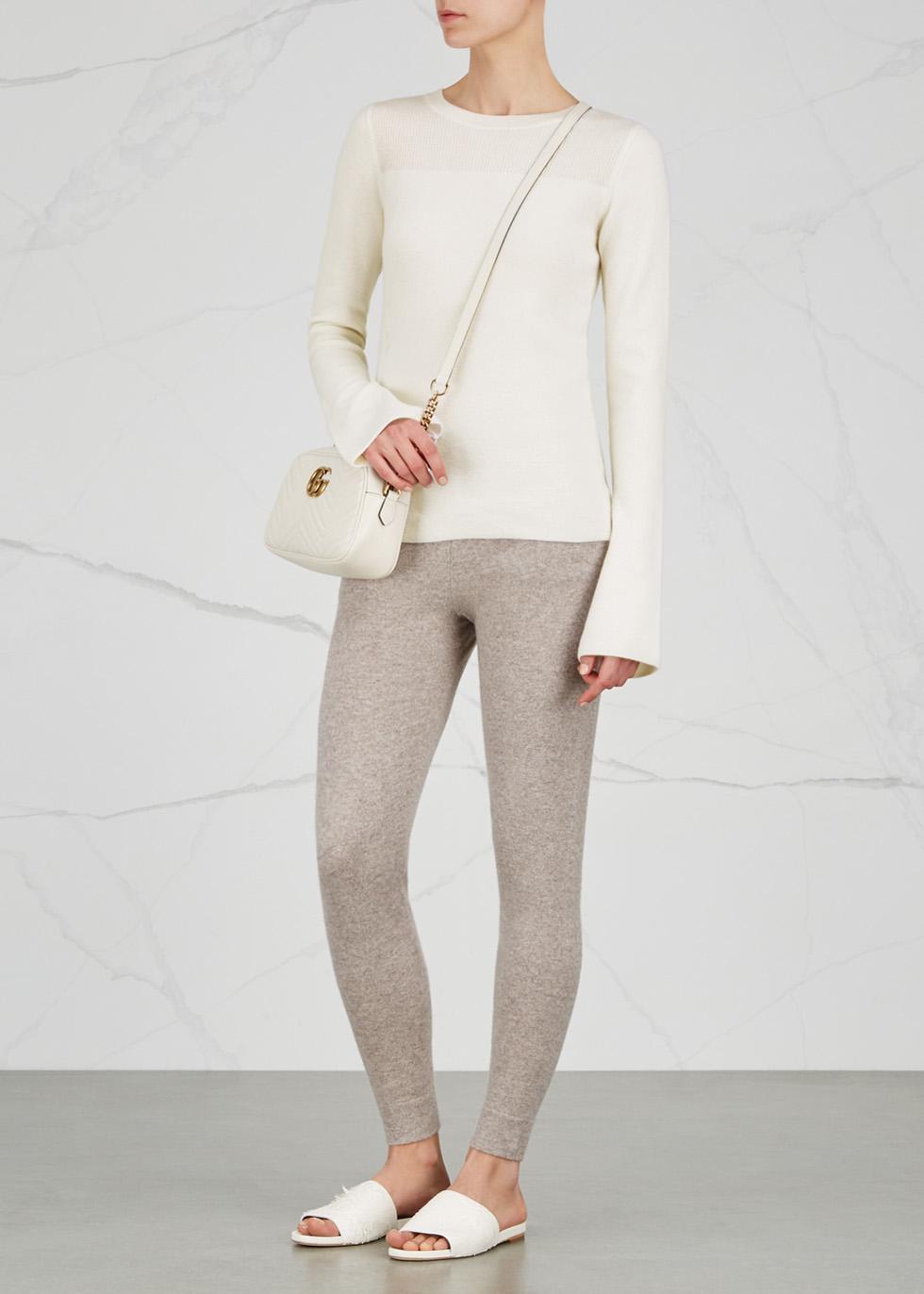 Boston bell-sleeve cashmere jumper - Le Kasha