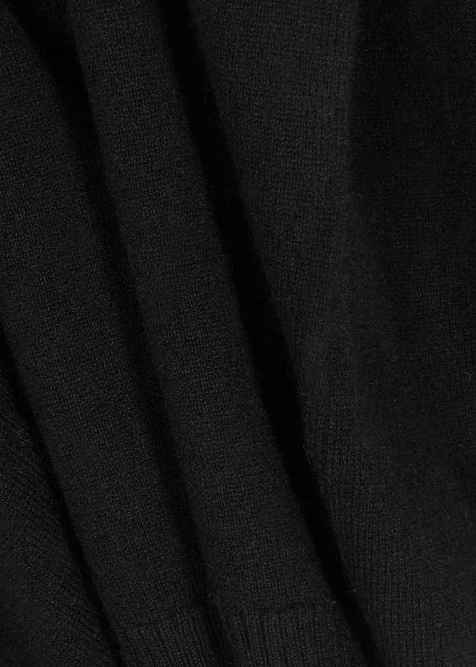 Vail black cashmere jumper - Le Kasha