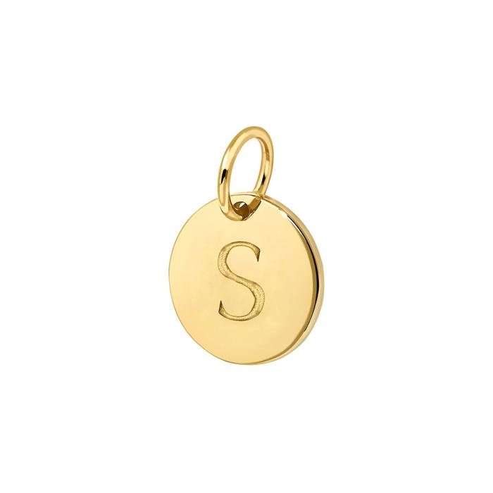 Missoma S 18CT GOLD VERMEIL CHARM