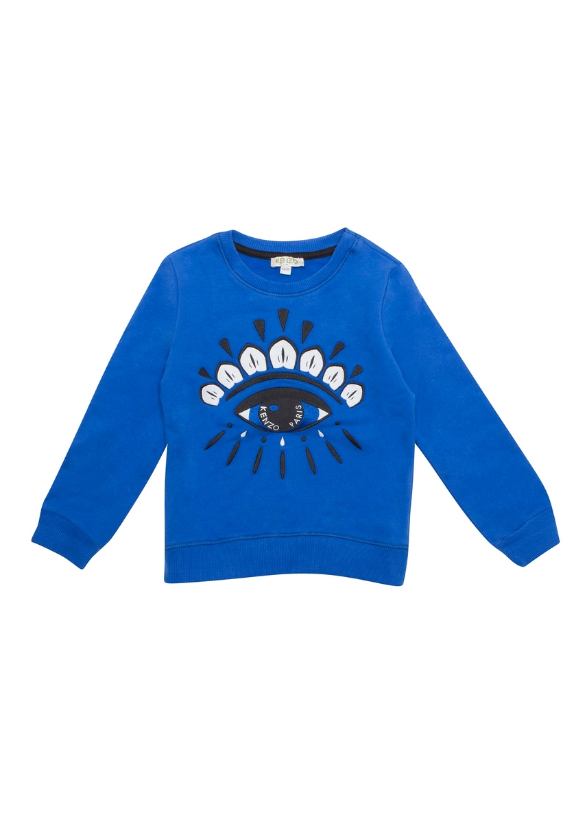b487d53ddef6 Cotton Eye Sweat Top Blue Size 8YR-12YR ...