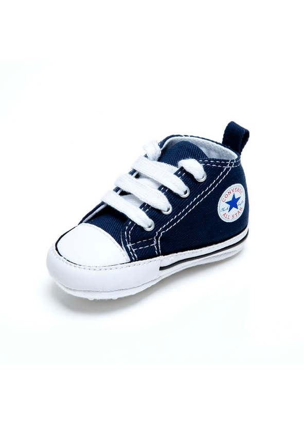 d794709c34ac7e ... All Star Crib Trainer Navy Size 17-20. Converse