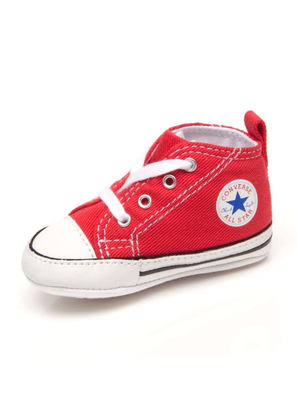 c336a12d7b953c ... All Star Crib Trainer Red Size 17-20. Converse