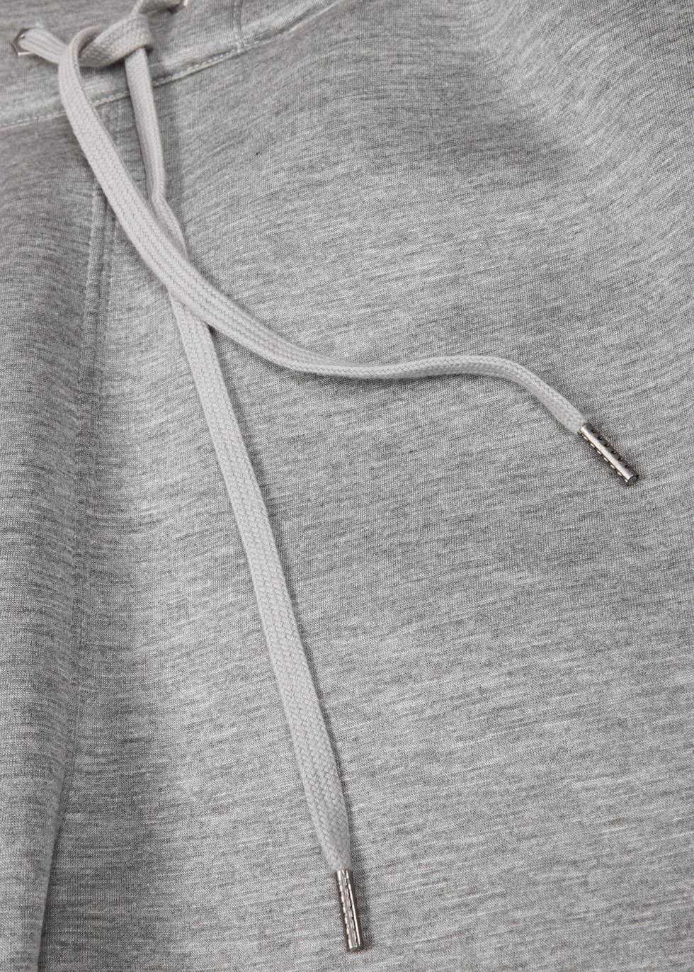 Grey mélange modal jogging trousers - Helmut Lang