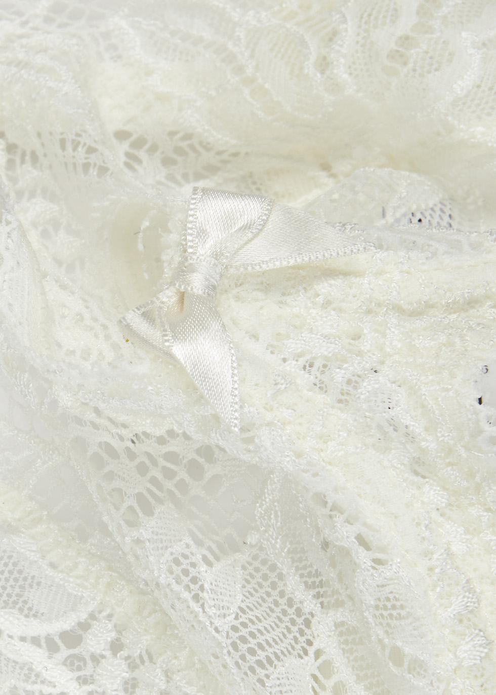 Eden ivory lace demi-cup bra - Simone Pérèle