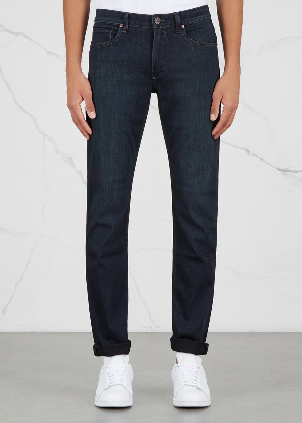 Lennox blue slim-leg jeans - Paige