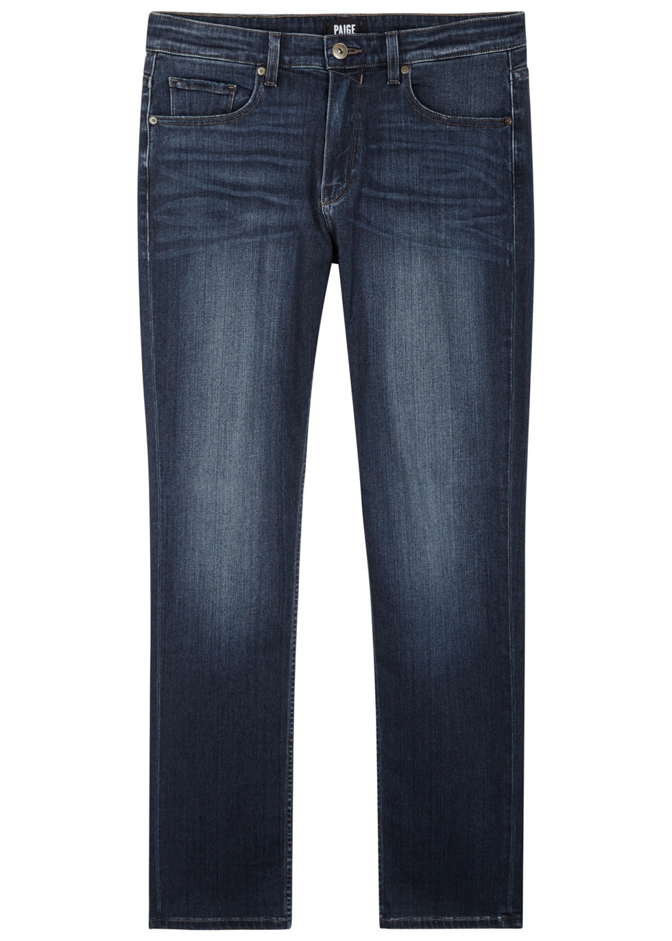 Federal blue straight-leg jeans - Paige