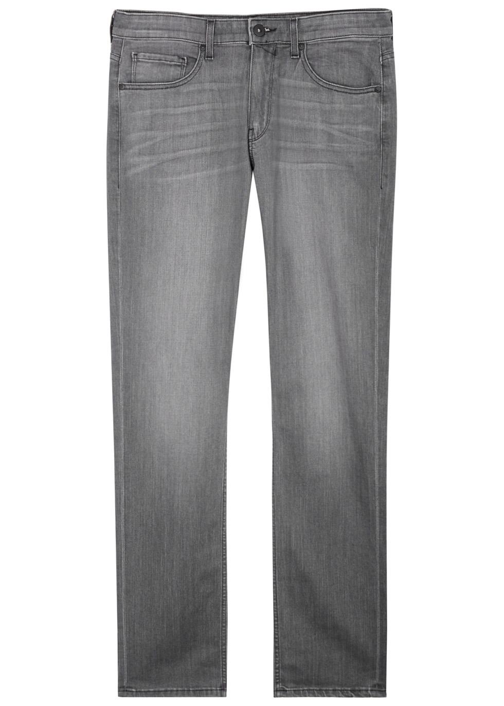 Federal grey straight-leg jeans
