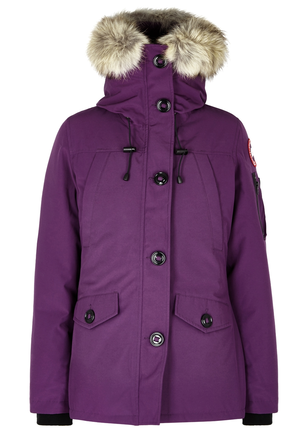 Montebello fur-trimmed shell parka ...