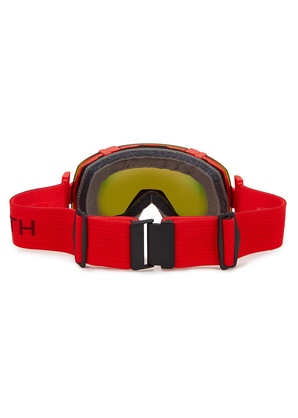 I/OX red ski goggles - SMITH