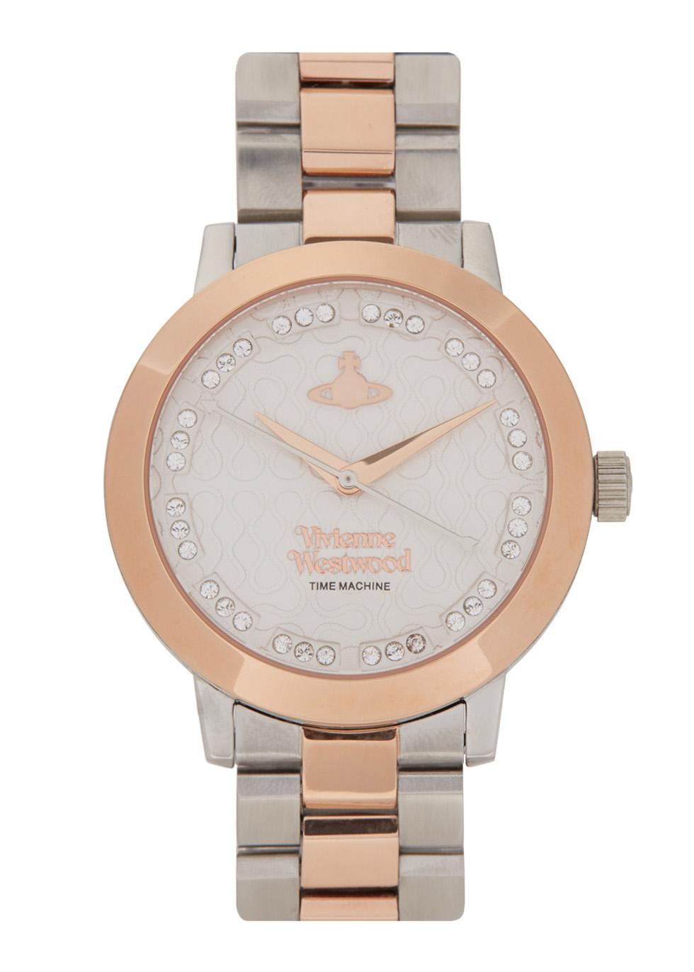 0a65c217603 Vivienne Westwood Portobello rose gold tone watch - Harvey Nichols