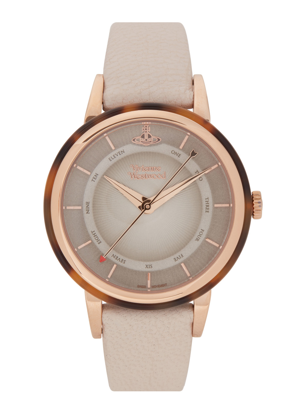 Portobello rose gold tone watch - Vivienne Westwood