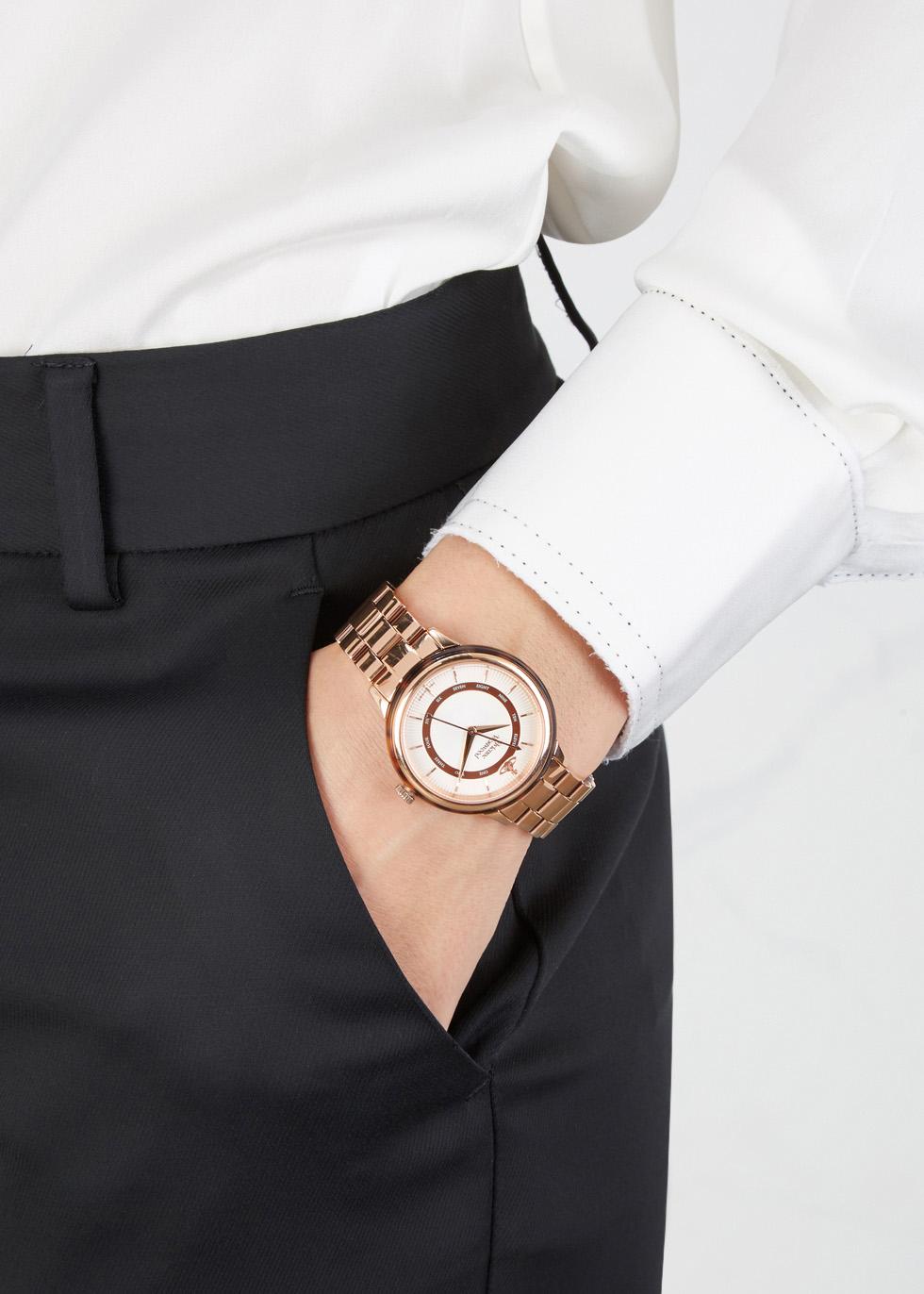 Portobello rose gold tone watch - Vivienne Westwood