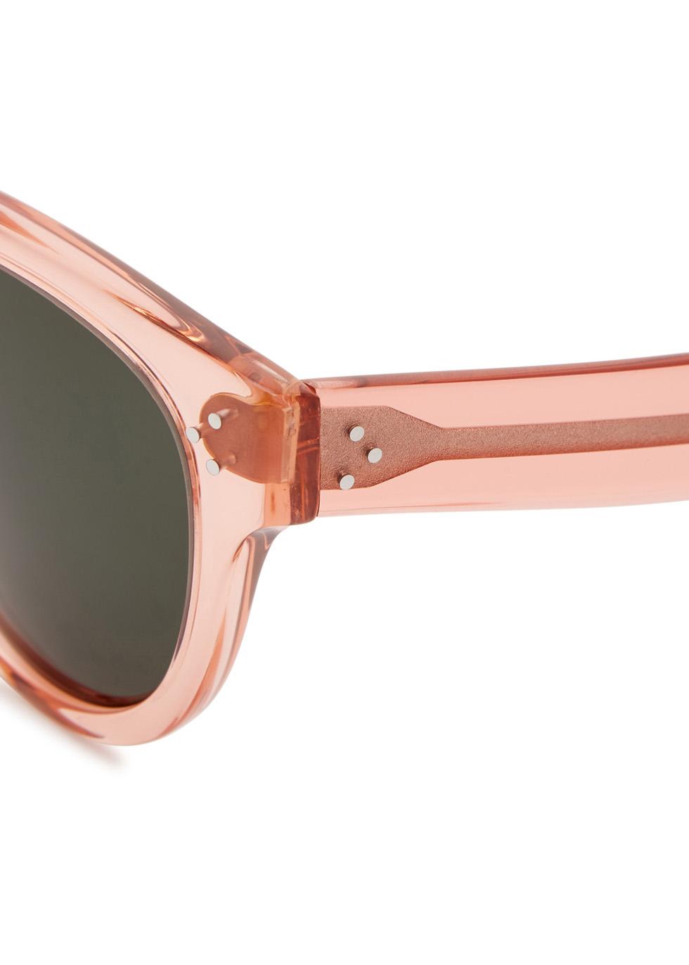 Audrey rose oversized sunglasses - Celine