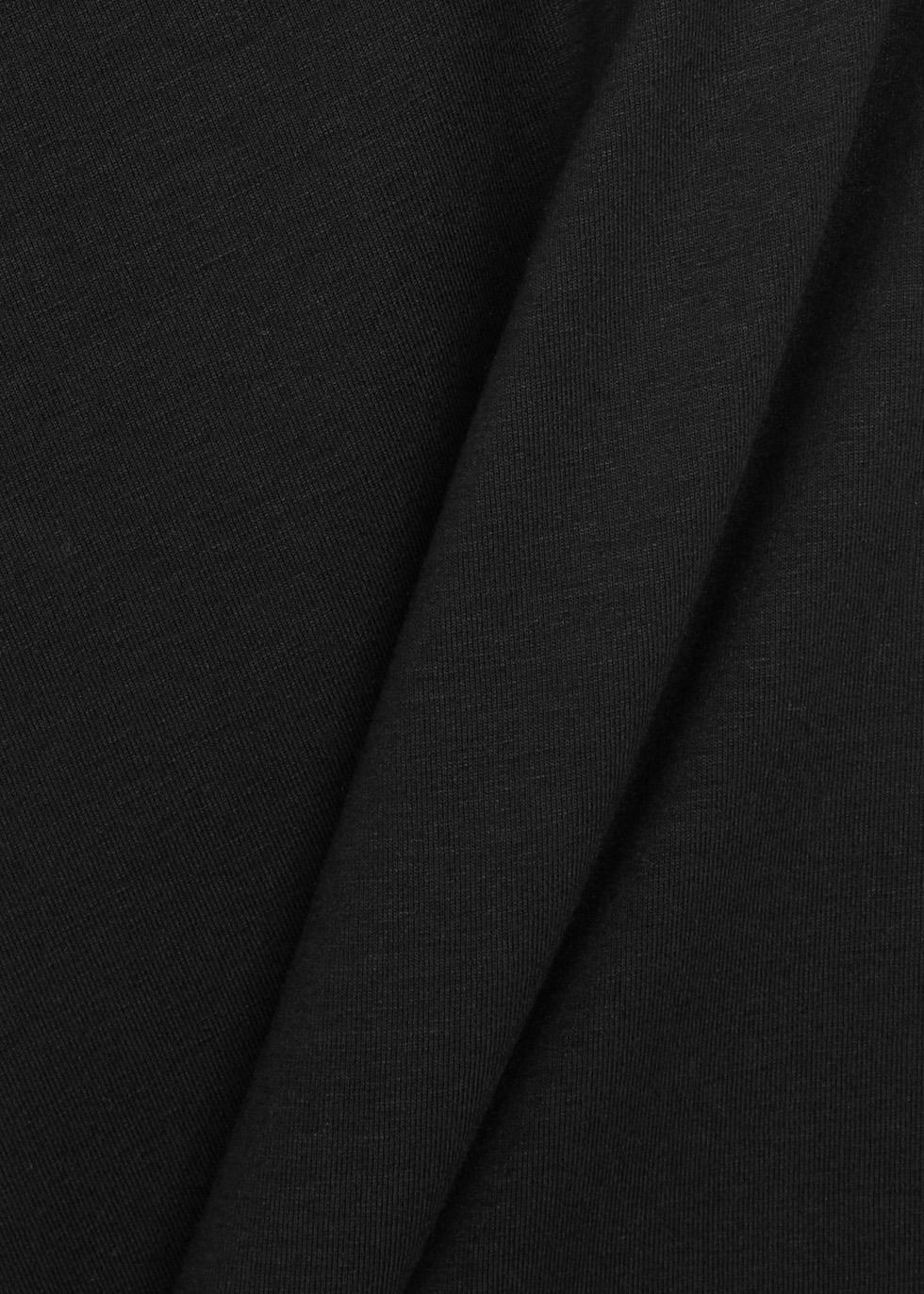 System black jersey tank - EILEEN FISHER