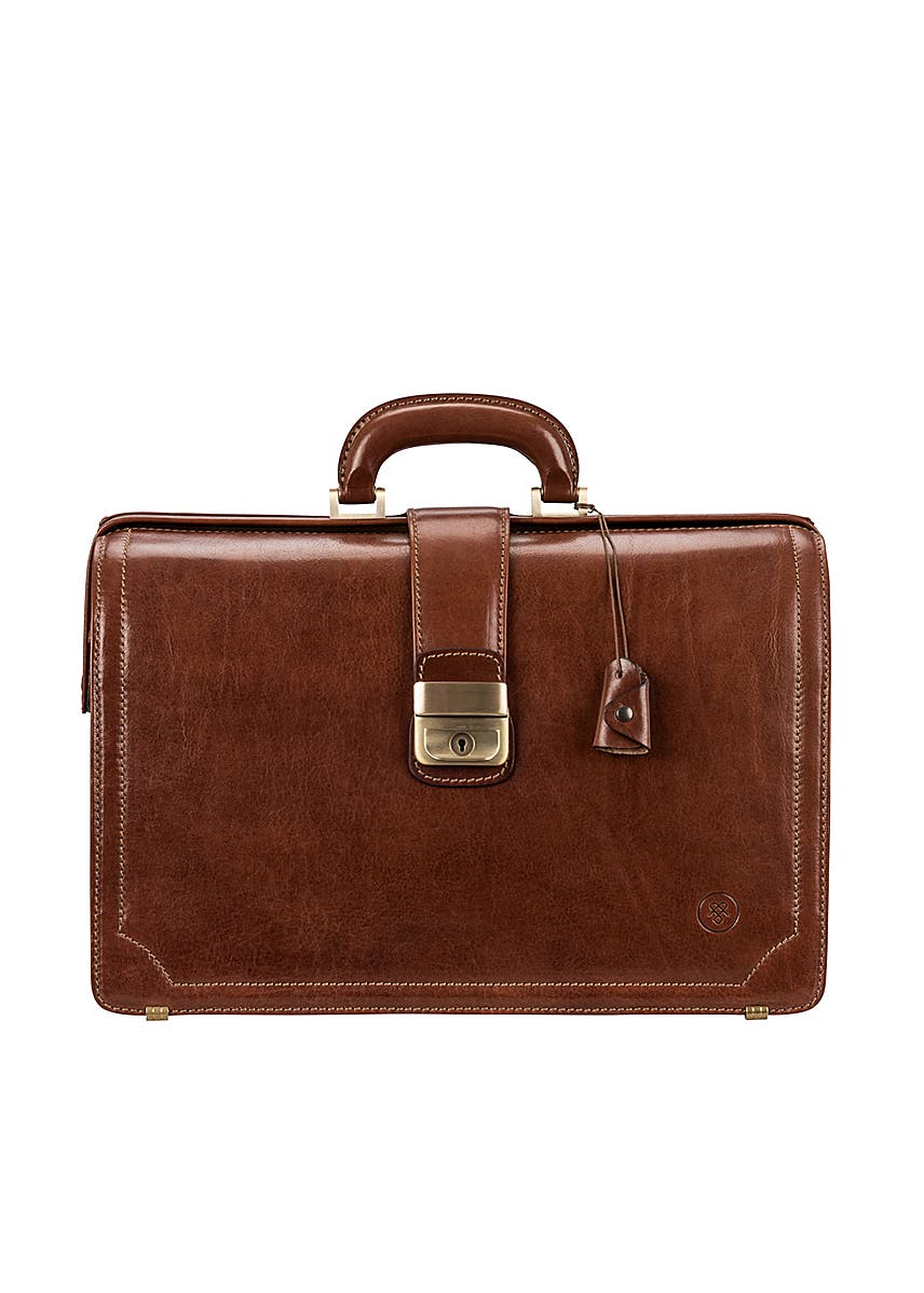 33082e045 Smart real leather tan executive briefcase for men Smart real leather tan  executive briefcase for men. Online Only. Maxwell Scott Bags