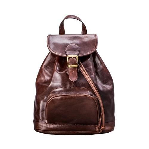 Maxwell Scott Bags Luxury Handmade Brown Leather Women S Backpack