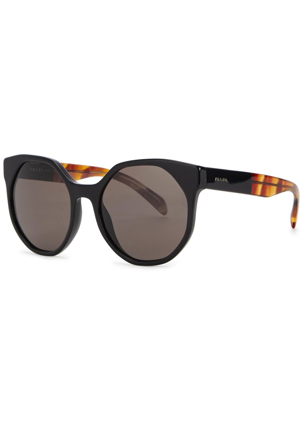 Black cat-eye sunglasses - Prada