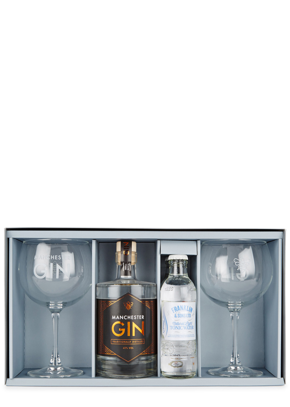 Manchester Gin u0026 Tonic Gift Set - Manchester Gin  sc 1 st  Harvey Nichols & Manchester Gin Manchester Gin u0026 Tonic Gift Set - Harvey Nichols