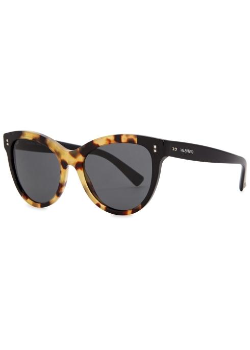 9584deca4ff Valentino Tortoiseshell cat-eye sunglasses - Harvey Nichols