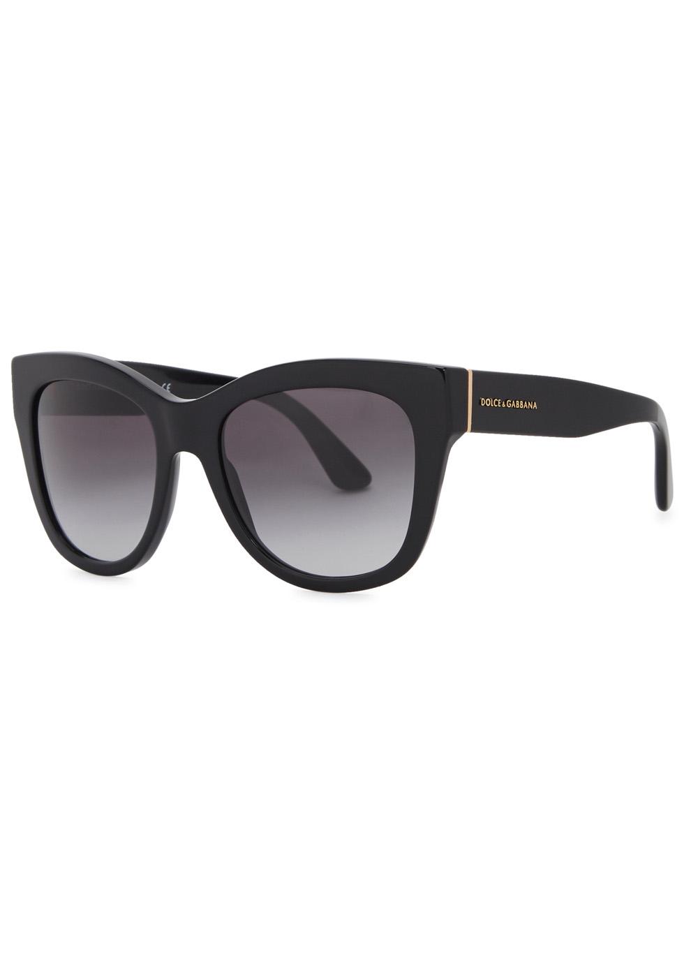 Black oversized sunglasses - Dolce & Gabbana
