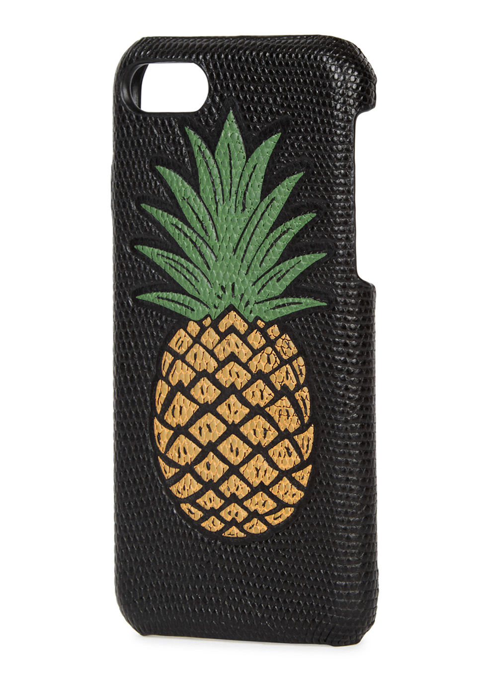 Pineapple-print leather iPhone 7 case - The Case Factory