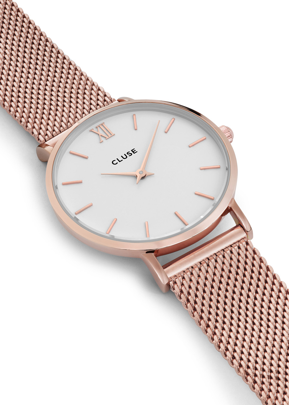 Minuit rose gold tone watch - CLUSE