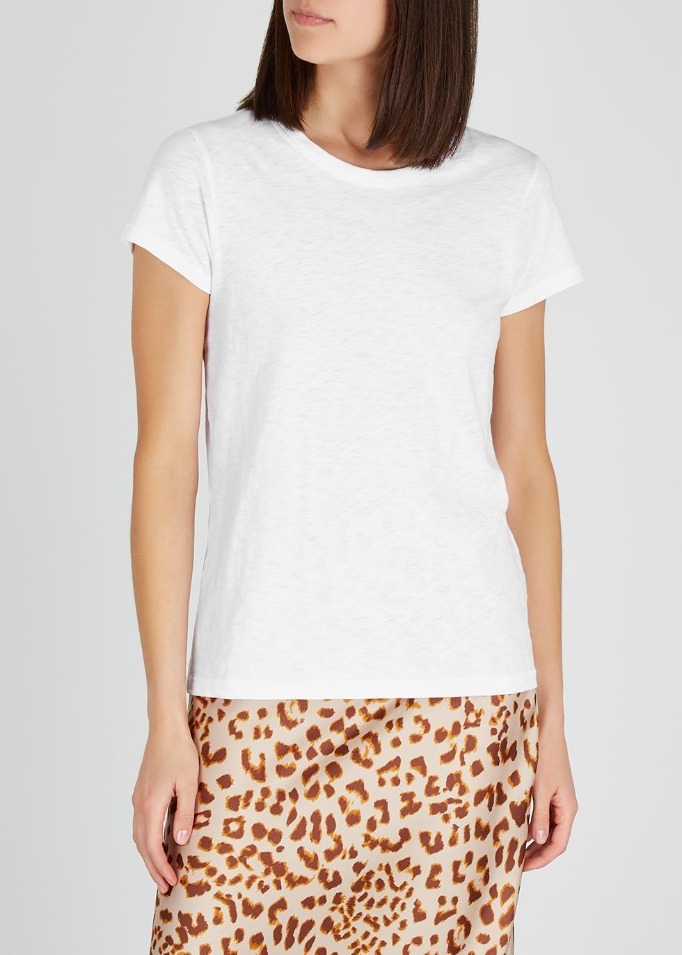 The Tee white cotton T-shirt - rag & bone