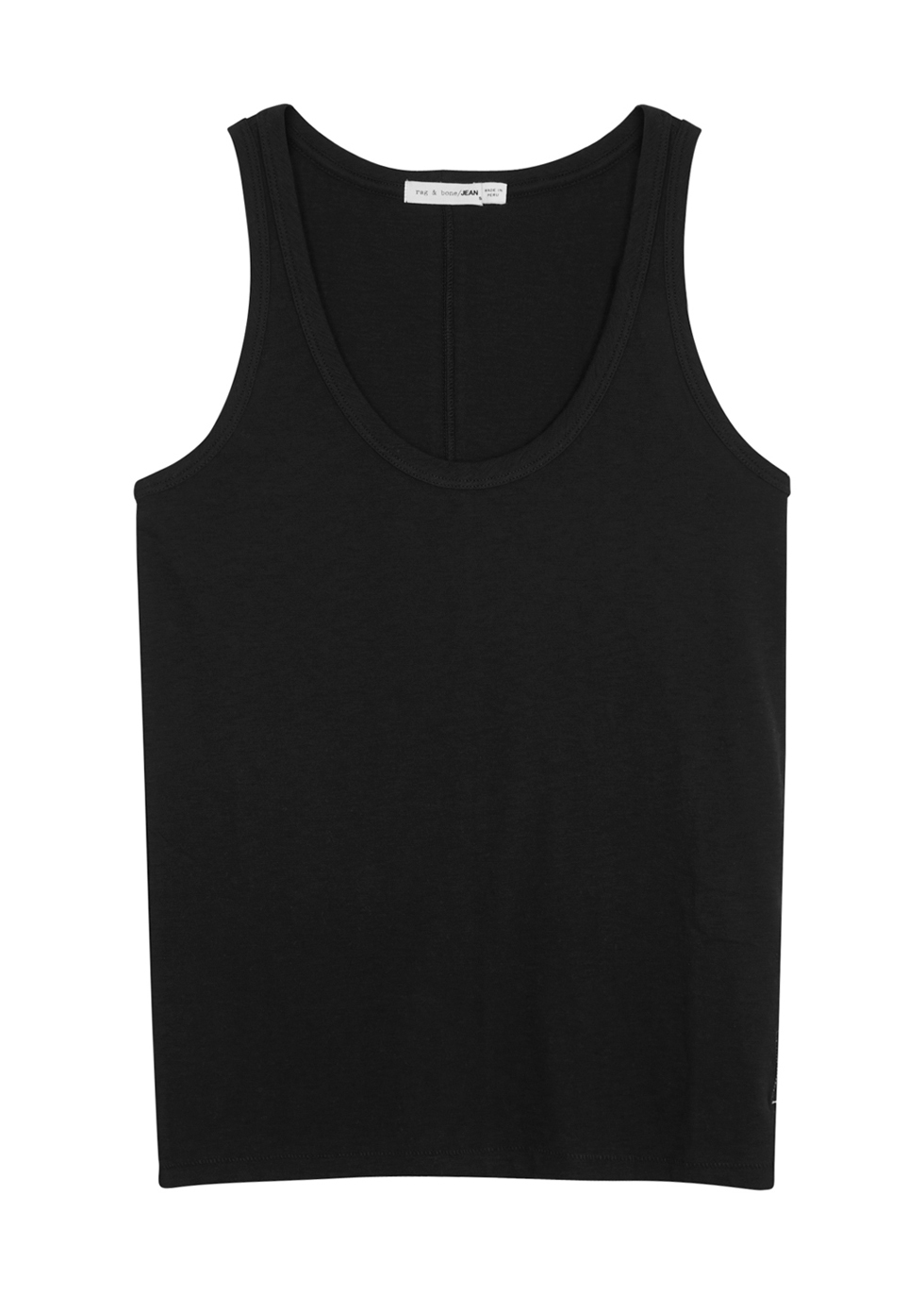 Black cotton tank - rag & bone