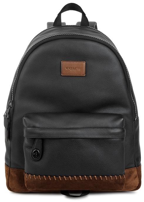 3c9bdf71f3ed Coach Rip And Repair Campus leather backpack - Harvey Nichols