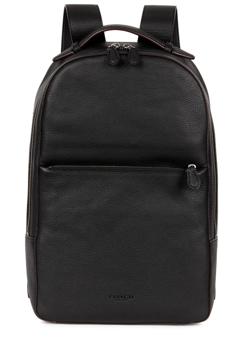 2137fd13e3 Coach Metropolitan black leather backpack - Harvey Nichols