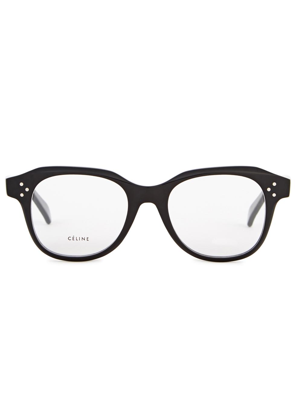 Emily oval-frame optical glasses - Celine